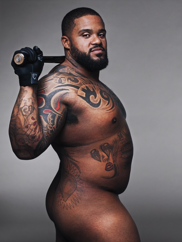 PRINCE FIELDER Photographed by Alexei Hay on May 19, Dallas, TX. Credits: HAIR BY AARON MICHAEL OWENS GROOMING BY ROCIO VIELMA/KIM DAWSON AGENCY PROP STYLING BY ADAM FORTNER/SISTERBROTHERMGMT.COM