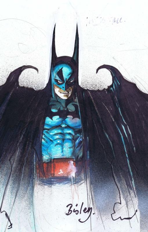 Simon Bisley - ECCC2013 - Batman